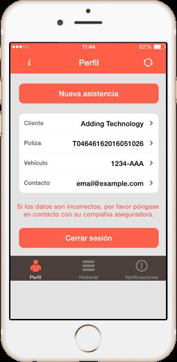 App clientes servicio grúas