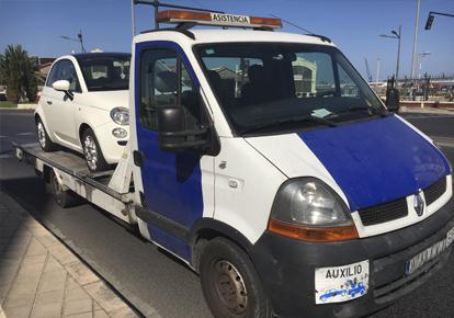 Solución digital para grúas y asistencia en carretera